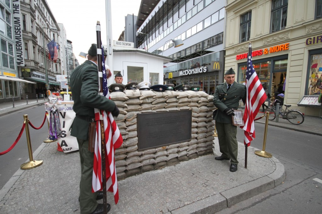 Checkpoint Charlie is still 'alive'