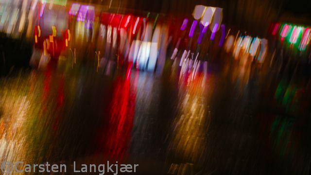 Colors at night in Copenhagen